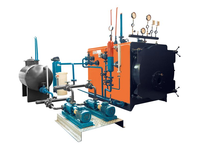 Çetik Isı Boiler | 3 Pass Ways, Tubular System - Solid Fuel Fired ...